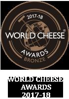 World Cheese Awards Bronze 2017-2018