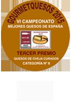 Gourmet quesos 2015: VI Cameponato Mejores Quesos España