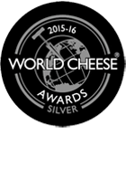 World Cheese Awards Silver 2015-16