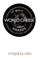 World Cheese Silver 16-17 Etiqueta Gris