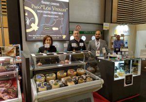 Queso de Oveja Pago 'Los Vivales' en la feria SIAL Paris