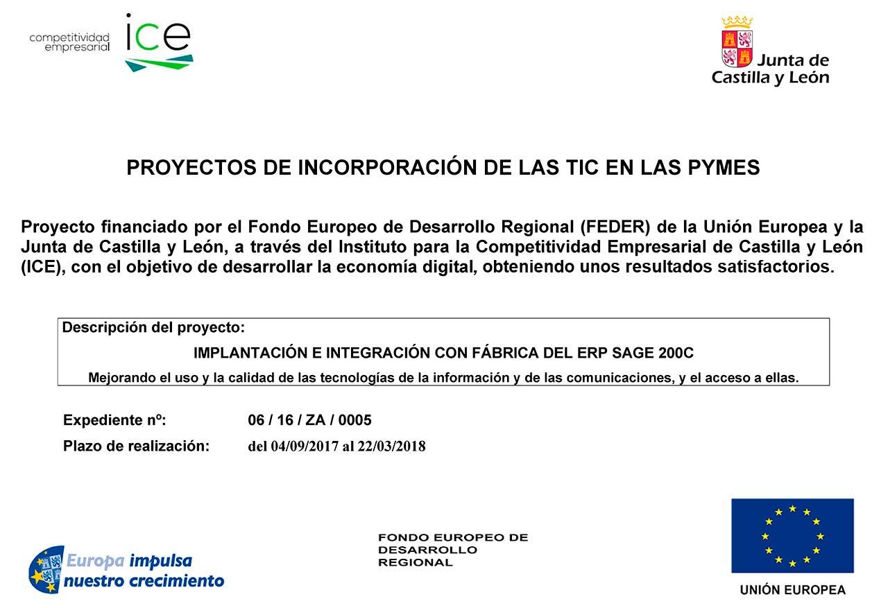 """Implantación e integración de tecnologías TIC en la fábrica de Pago """"Los Vivales"""""""