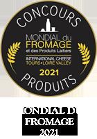 Mondial du Fromage et des Produits Laitiers 2021 - Médaille de Bronze